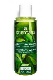 Orientana, Ajurwedyjski szampon do włosów NEEM I ZIELONA HERBATA, 210ml