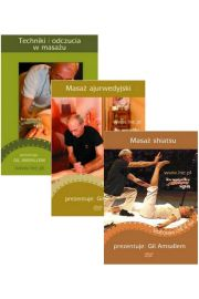 Zestaw 3 płyt DVD Techniki masażu - Gil Amsallem
