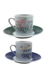 Podwójny zestaw do Espresso - Slogany