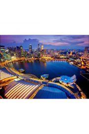 Puzzle 1000 Singapur na tle nieba