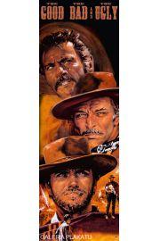 Western Dobry Zły i Brzydki - Clint Eastwood - plakat