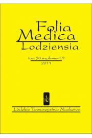 Folia Medica Lodziensia t. 38 suplement  2/2011