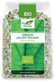 Groch Zielony Połówki Bio 400 G - Bio Planet