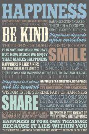 Szcz�cie - plakat motywacyjny