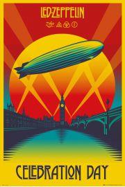 Led Zeppelin Celebration Day - plakat