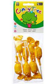 Lizaki Okrągłe O Smaku Cytrynowym Bezglutenowe Bio (7 X 10 G) - Candy Tree