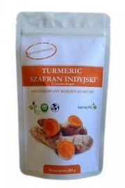 Kurkuma (Turmeric) - sproszkowany korzeń (curcuma longa) - 200 g