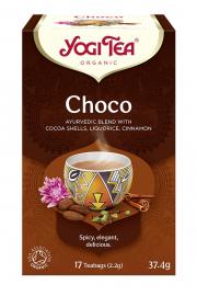Herbatka Czekoladowa Choco Z Kakao Bio (17 X 2,2 G) 37,4 G - Yogi Tea