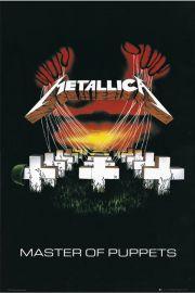 Metallica - Master of Puppets - plakat