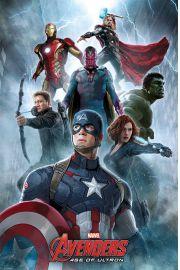 Avengers Czas Ultrona Wojownicy - plakat