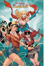 DC Comics Bombshells - plakat