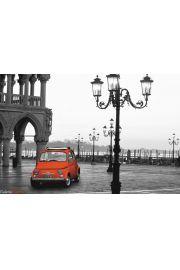 Piazza San Marco - Wenecja - Włochy - plakat