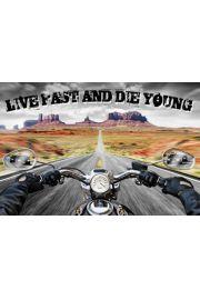 Żyj Szybko Umrzyj Młodo - Policyjny Pościg - plakat