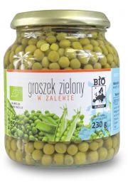 Groszek Zielony W Zalewie W Słoiku Bio 350 G (230 G) - Bio Europa