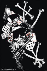 Art Worx - Pistolety , �mier� i Poker - plakat