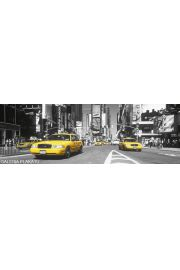 Nowy Jork Times Square Taxi - plakat