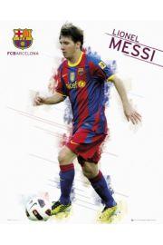 FC Barcelona Lionel Messi - Piłka Nożna - plakat