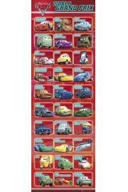 Auta 2 - Cars 2 Kompilacja - plakat