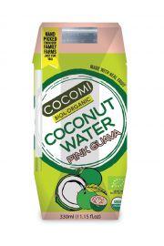Woda Kokosowa O Smaku Guawy Bio 330 Ml - Cocomi