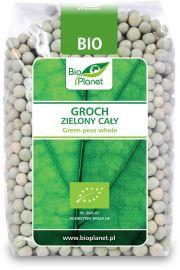 Groch Zielony Cały Bio 400 G - Bio Planet