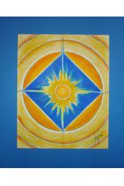 """Mandala """"Siła komunikowania się z otoczeniem"""""""