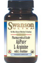 AjiPure L-Arginina & L-Ornityna 90 kaps SWANSON