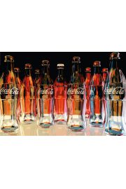 Coca-Cola Butelki - plakat