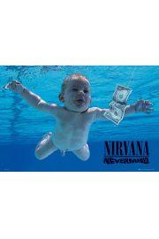 Nirvana Nevermind - plakat
