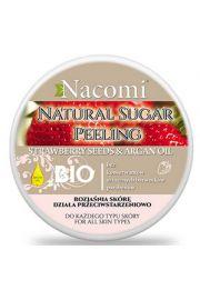 Peeling z olejem arganowym Truskawka NACOMI