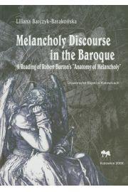 Melancholy Discourse in the Baroque