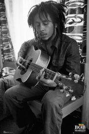 Bob Marley Gitara - plakat