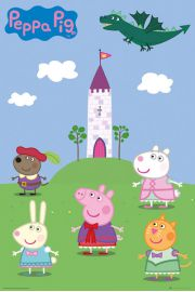 Świnka Peppa Fairy Tale - plakat