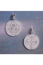 Medalik Świętego Benedykta (złoto)