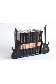 Podpórka do książek Gitara (czarna z brokatem)