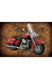 Harley Davidson Kr�l Szos - plakat
