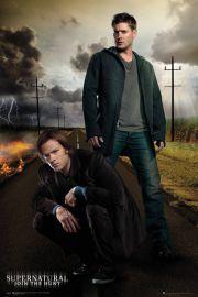 Supernatural Nie z Tego Świata Dean i Sam - plakat