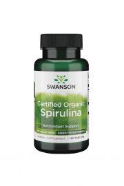 Swanson Spirulina 100% organiczna 500mg 180 tabl.
