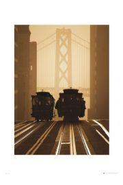 San Francisco Stare Tramwaje - reprodukcja