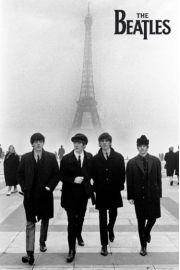 The Beatles w Paryżu - plakat