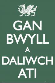 Wales Keep Calma - plakat