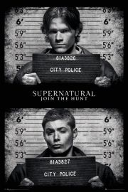Supernatural Mug Shots - plakat