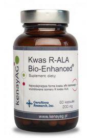 Kwas R-ALA Bio-Enhanced® aktywna forma kwasu liponowego (60 kapsułek) - suplement diety