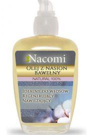 Olej z nasion bawełny z pompką NACOMI