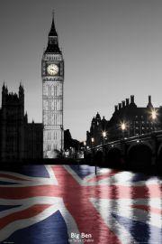 Londyn Big Ben - plakat