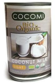 Mleczko Kokosowe W Puszce Light (9% Tłuszczu) Bio 400 Ml - Cocomi