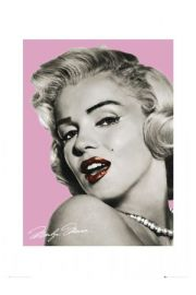 Marilyn Monroe pink - reprodukcja