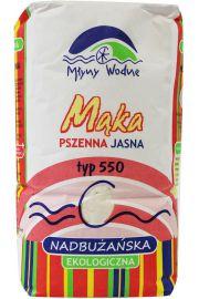 Mąka Pszenna Jasna Typ 550 Bio 1 Kg - Eko Mega