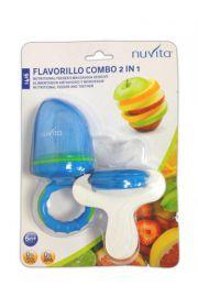 Nuvita, Flavorillo combo 2 w 1 Gryzak i siateczka do podawania pokarmu