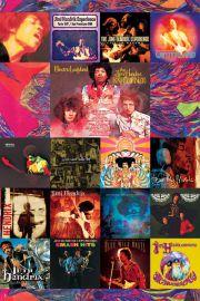 Jimi Hendrix - Ok�adki P�yt - plakat