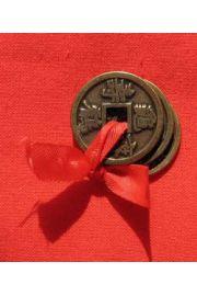 Chińskie monety bogactwa - symbol dostatku, dobrobytu, bogactwa